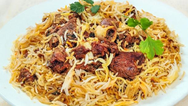 Afghani Mutton Biryani Recipe