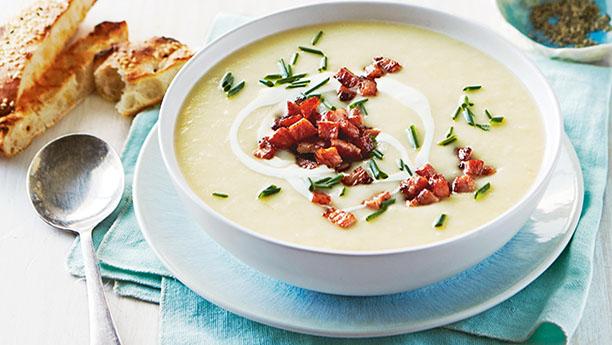 آلو اور کریم کا سوپ