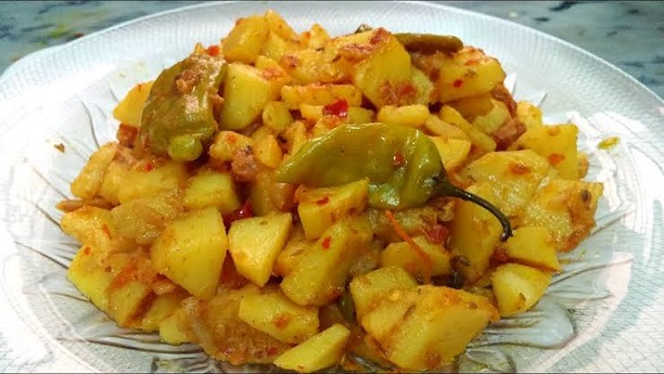 Aloo ki Bhujia Recipe