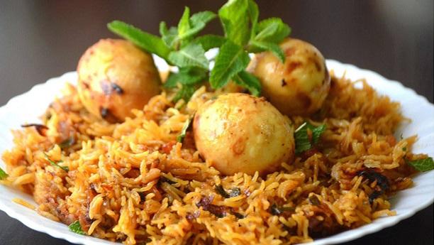 Anday Ki Biryani Recipe