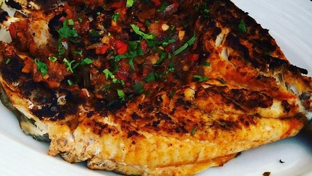 Arab Baked Fish