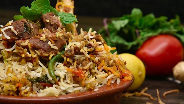 Arabian Laham Mandi (Mutton With Rice)