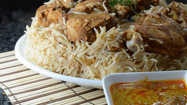 Arabic Chicken Biryani