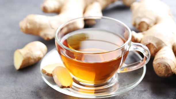 Aromatic Ginger Tea By Chef Fauzia