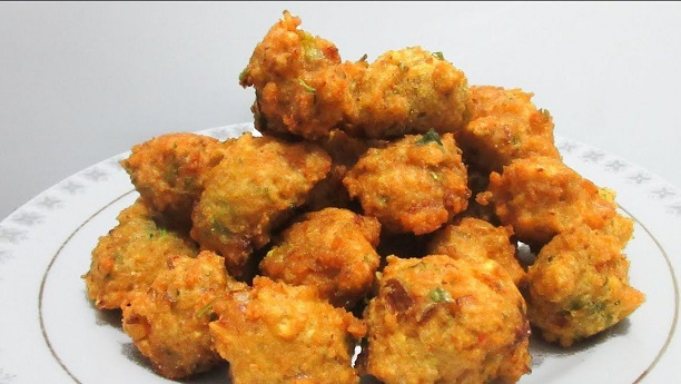 Bamboo Shoot Fritters (Moong Pakora)