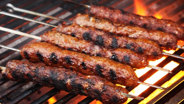 Barbecue seekh kabab recipe delicious beef seekh kabab for Food for bar b q