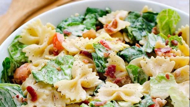 Barbecue Pasta Salad