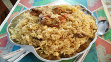 Batair Pulao Recipe