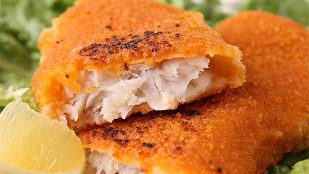 بٹیر فرائیڈ فش اینڈ چپس<br/>Batter Fried Fish and Chips