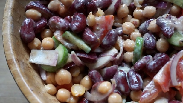 Bean Chaat by Zarnak Sidhwa