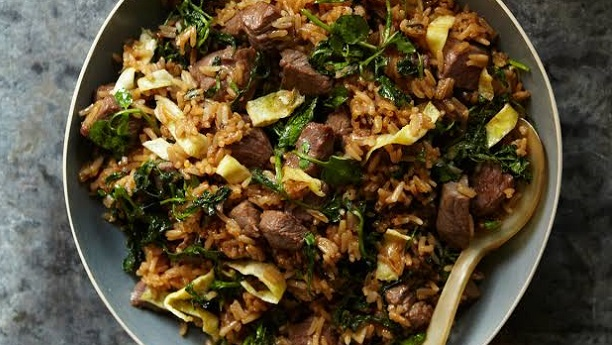 Beef with Fried Rice