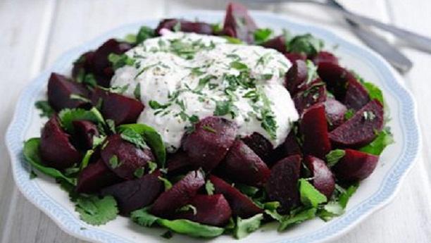 Beetroot salad by Zarnak Sidhwa