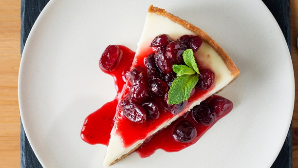 Berry Topped Cheese Cake