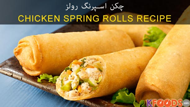 how to make chicken spring rolls by sanjeev kapoor
