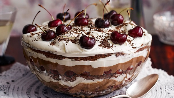 Black Forest Triffle  Recipe