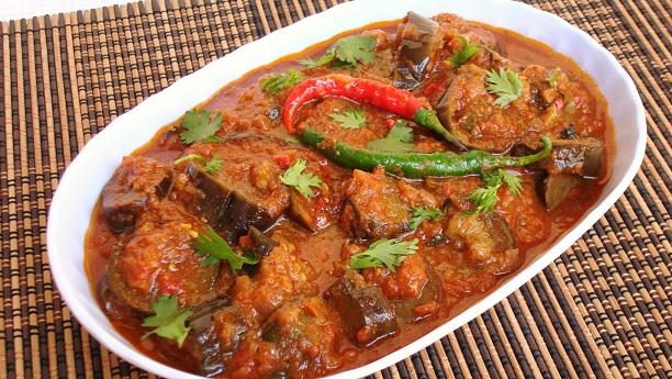 Brinjal Ki Chat Pati Kardahi Recipe