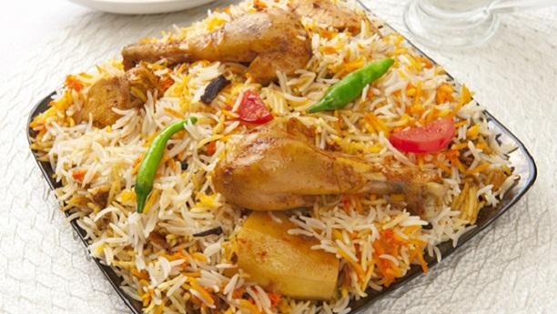 Burnce Road Ki Murgh Aloo Biryani  Recipe