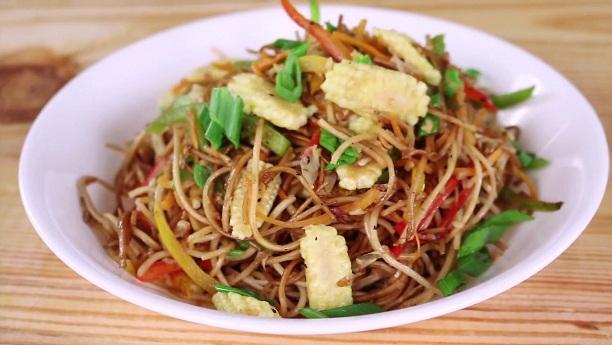 Burnt Chili Garlic noodles Recipe