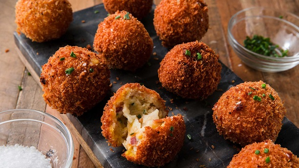 Butter Mashed Potato Balls