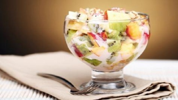 Caramel Fruit Chaat Recipe