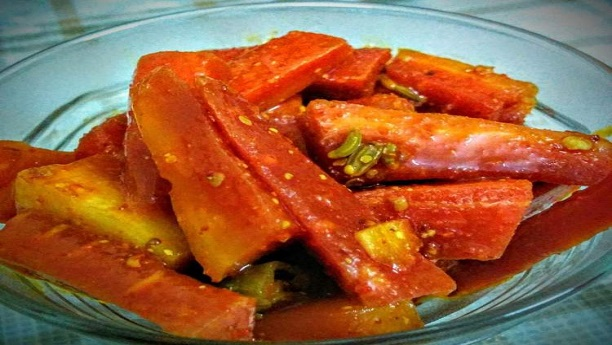 Carrot Achar Recipe