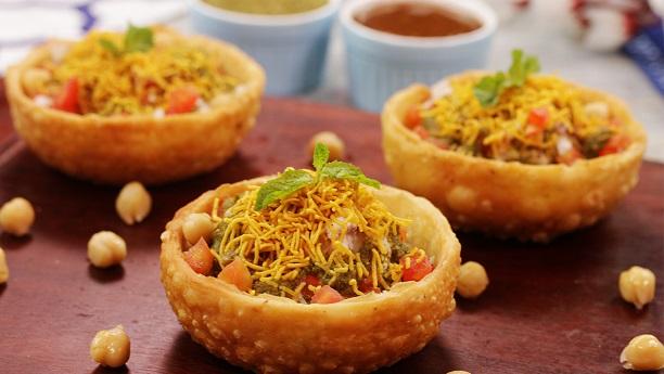 Chana Chat Katori Recipe