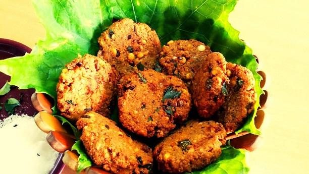 Chana-ni Dal-na Vada (Bengal Gram Vada)
