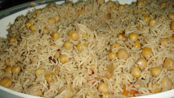 Chane ka pulao Recipe