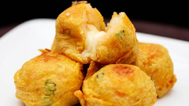 Cheesy Chicken batata Recipe