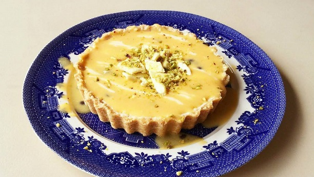 Cheesy Lemon Flan
