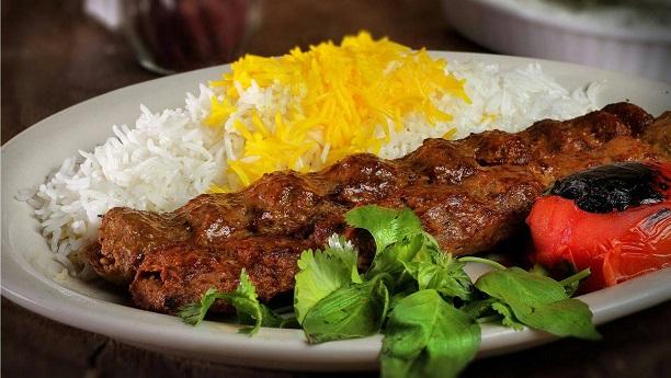 چلو ایرانی کباب