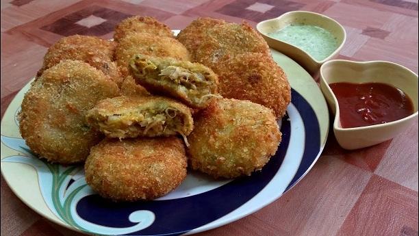 Chicken Aloo Tikki