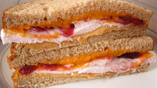 Chicken And Peanut Butter Sandwich