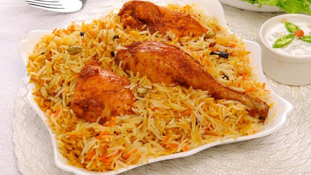 چکن بریانی<br/>Chicken Biryani