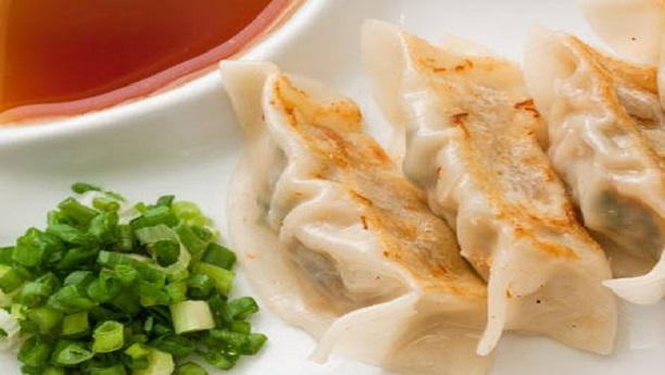 Chicken Dumplings in Ginger Sauce