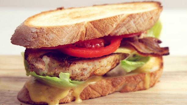 Chicken Fillet Sandwich By Shreen Anwar Recipe