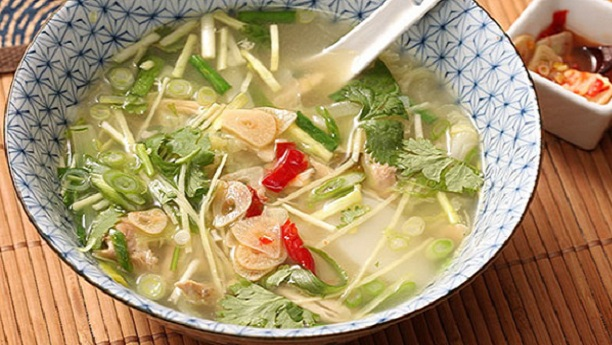 Chicken Ginger Soup Recipe