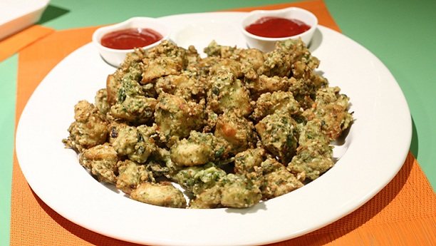 Chicken Haryali Fry