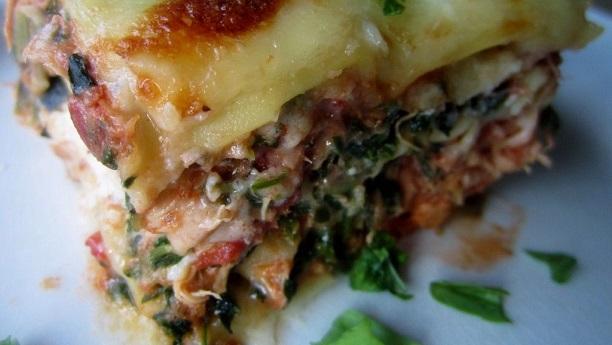 Chicken Lasagna Florentine