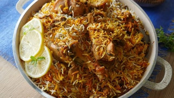 Chicken Masala Biryani Recipe