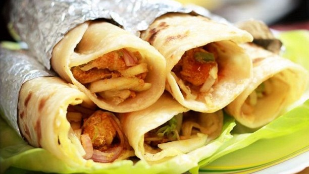 Chicken Paratha Roll Recipe