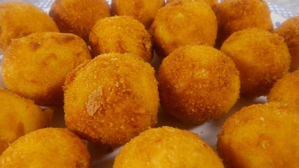 Картофельные шарики пошаговое