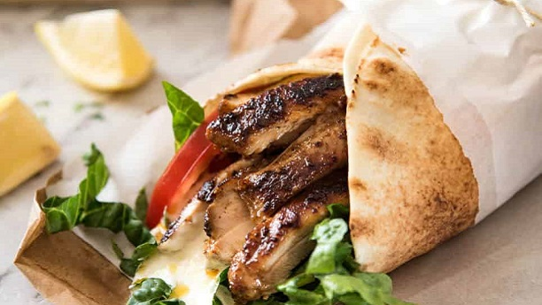 Chicken Shawerma by Farah Jahanzeb Khan