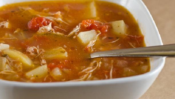 چکن ٹماٹو سوپ