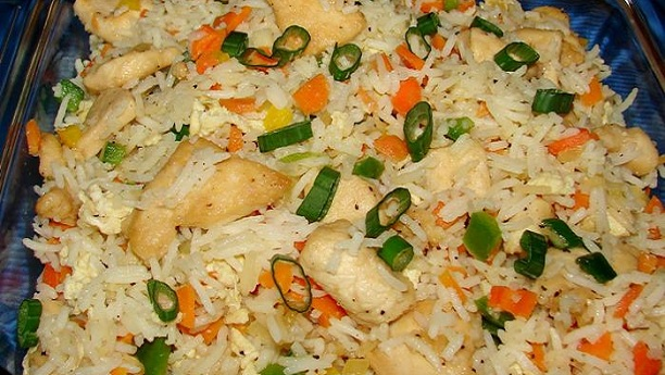 Chicken and Egg Fried Rice Recipe