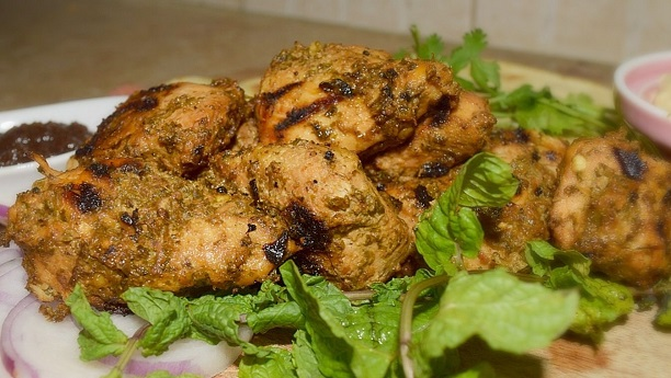 Chicken with Minced Meat Stuffing (Pahari Murgh)