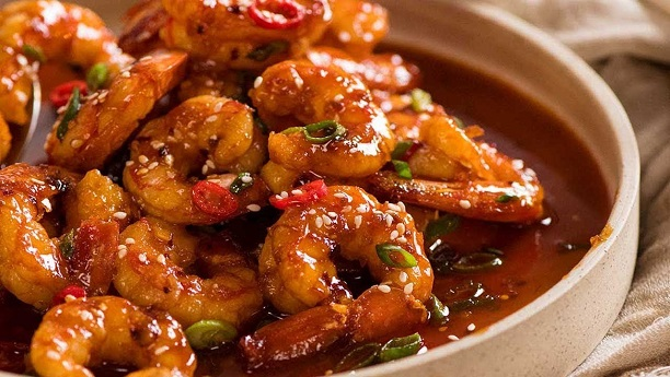 Chilly Prawn Recipe
