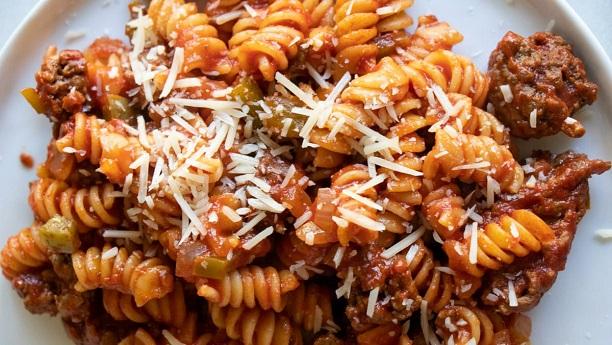 Chitrali Meat & Pasta Soup