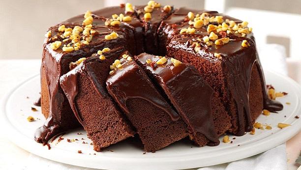 چاکلیٹ شیفون