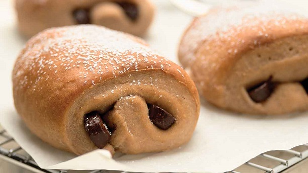 Chocolate Filled Rolls